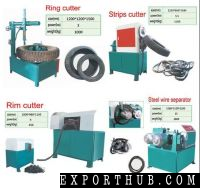 Waste Tyre Tire Shredding And Recycling Cutting Machine