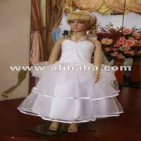 Girls Satin Dress