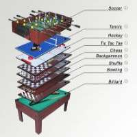 KBL***1A Multi-purpose Game Table